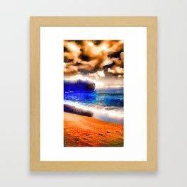 Hawaiian stars Framed Art Print