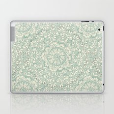 Sage Medallion with Butterflies & Daisy Chains Laptop & iPad Skin