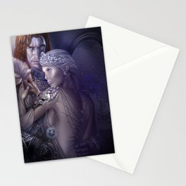 Wolf Queen Stationery Cards