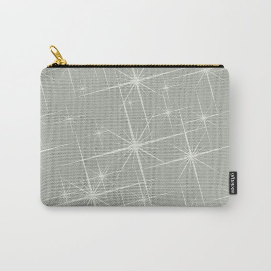 Oyster Bay Glitter Carry-All Pouch