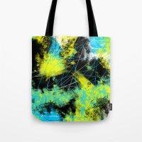 splash Tote Bags featuring Splash by Timothy Davis