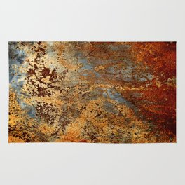 Beautiful Rust Rug
