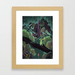where is home? Framed Art Print