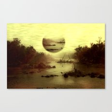 Illusive visions float above my head... Canvas Print
