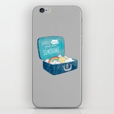 Always bring your own sunshine iPhone & iPod Skin