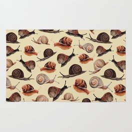 A Slew Of Snails Rug
