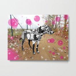 Bunter Hund Metal Print