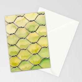Chicken Wire Stationery Cards