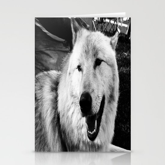 Wolf Dog Stationery Cards