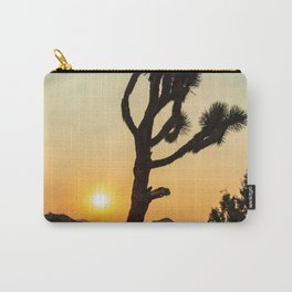 Joshua Tree Desert Vibes (Teal and orange) Carry-All Pouch