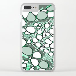 Abstract digital work 16 Clear iPhone Case