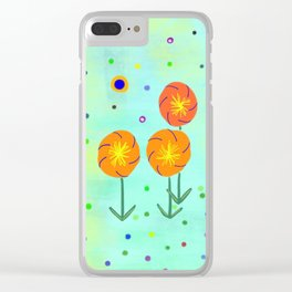 Springtime, original Clear iPhone Case