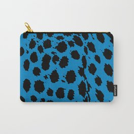 Cheetah Blue Carry-All Pouch