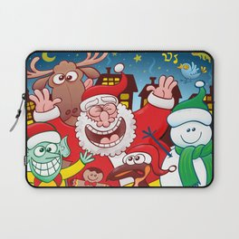 Santa and his team are ready for the great Christmas season! Laptop Sleeve