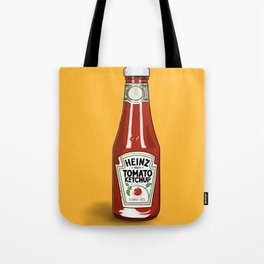 A love of Ketchup Tote Bag