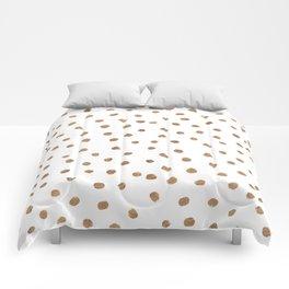 Goldie Dots Comforters