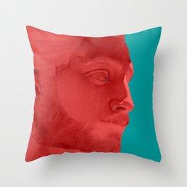 Lumbersexual Throw Pillow