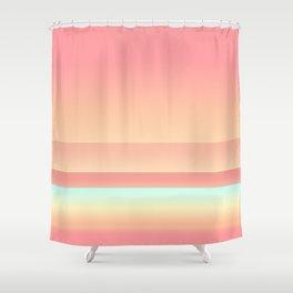 Big Sur Sunset Beach Color Shower Curtain