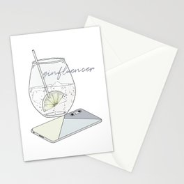 Ginfluencer Stationery Cards