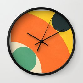 Roud Flow No. 8 Wall Clock