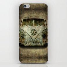 VW Micro Bus in Super Grunge iPhone & iPod Skin