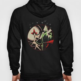 Halloween Witch Flying (vintage) Hoody