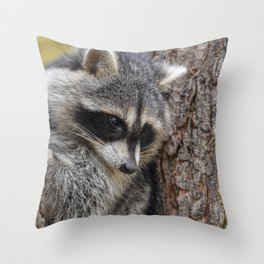 A thoughtful moment Throw Pillow