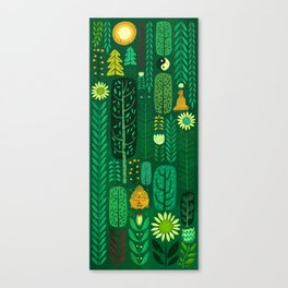 Sacred Forest Canvas Print