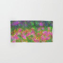 Meadow Pattern With Flowers Hand & Bath Towel