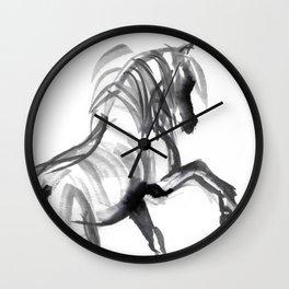 Wild horse (Bachelor) Wall Clock