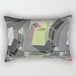 Inside-out - urban living Rectangular Pillow