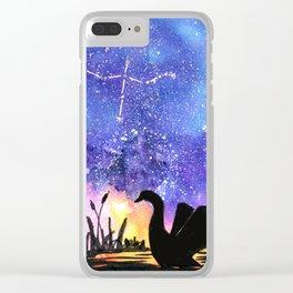 Cygnus Clear iPhone Case