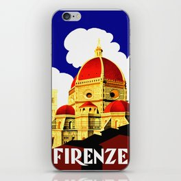 Firenze - Florence Italy Travel iPhone Skin