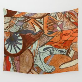 Doodle 15 Wall Tapestry