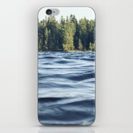 Summer Forest Lake iPhone Skin