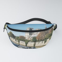 Seine River at Notre Dame Fanny Pack