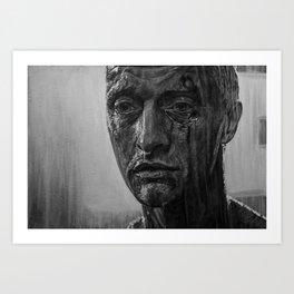 rutger hauer portrait Art Print