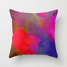 She Always Colored Outside the Lines Throw Pillow
