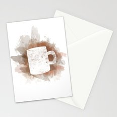 Coffee Stain Stationery Cards