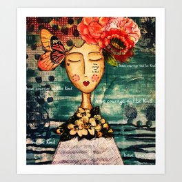 Coco's Closet - Courage and Kind Art Print