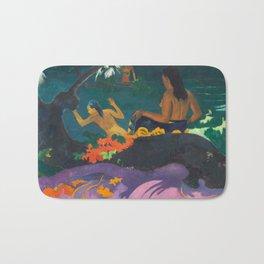 Paul Gauguin - By the Sea- Tropical Decor Bath Mat