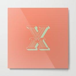 X-treme X Metal Print