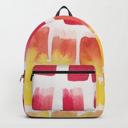 19  | 190321 Watercolour Abstract Painting Backpack