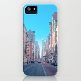 NYC Endless Street View iPhone Case