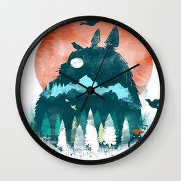 totoroart Wall Clock