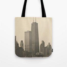 John Hancock Building Downtown Chicago Illinois Color Photo Tote Bag