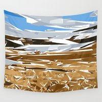 iceland Wall Tapestries featuring iceland by Matthias Hennig