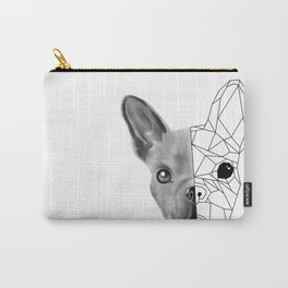Geometric little dog Carry-All Pouch