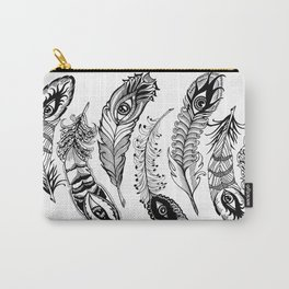 bizarre feathers Carry-All Pouch