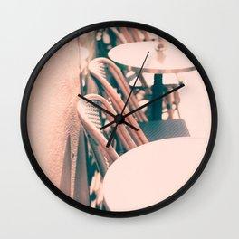 Paris cafe moments Wall Clock